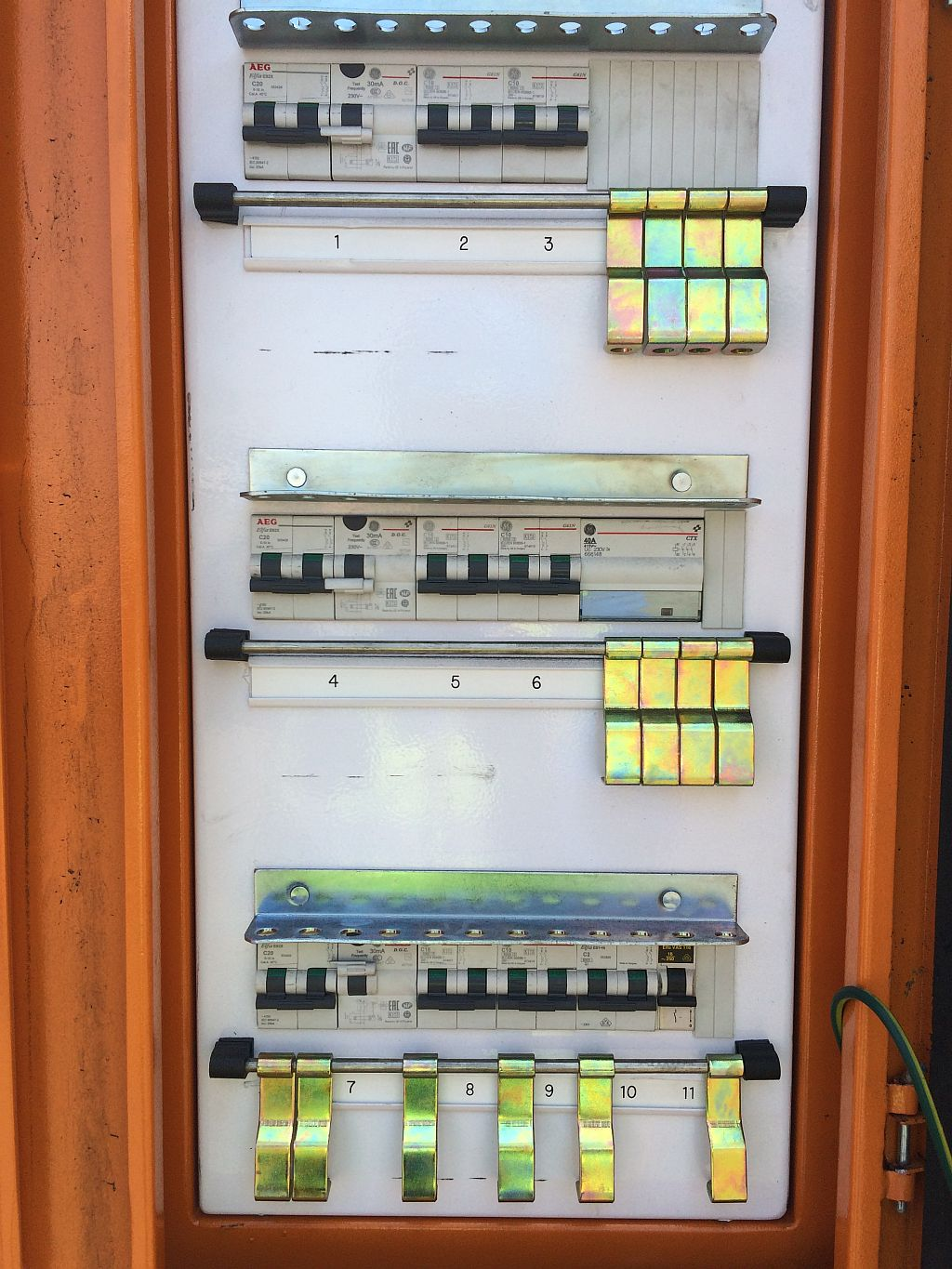 Rula Bulk Materials Handling This Is A Three Phase Electrical Panel For The Lighting And Power Of Design Instal Single Small Distribution Systems